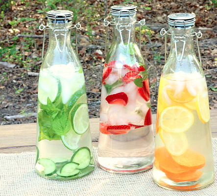 Flavored Summer Water, Spring has Sprung