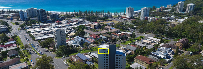 Penthouse 29 Hill Avenue, Burleigh Heads#SOLD
